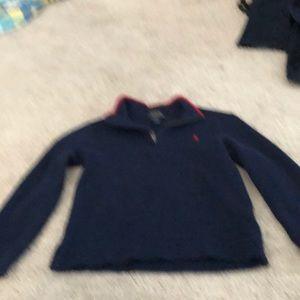 Ralph Lauren  boys polo dress  sweater size 6